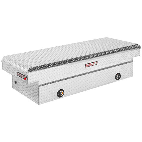 Model 117-0-02 Saddle Box, Aluminum, Full Extra Wide, 15.3 cu ft