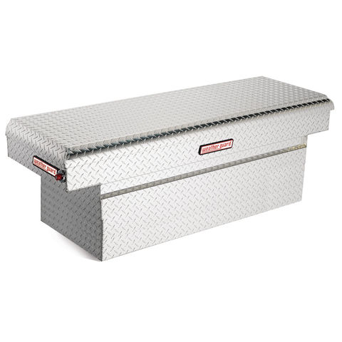 Model 123-0-01 Saddle Box, Aluminum, Full Extra Deep, 15.1 cu ft