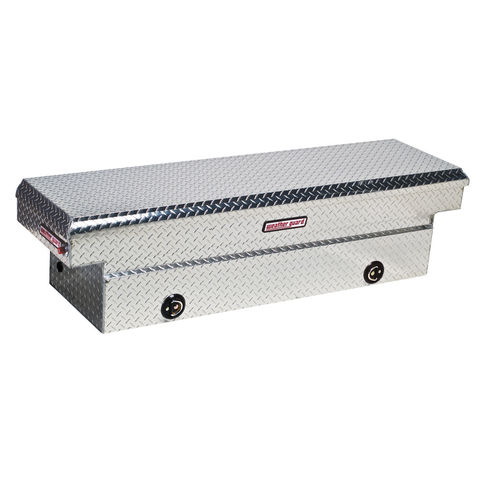 Model 127-0-02 Saddle Box, Aluminum, Full Standard, 11.3 cu ft