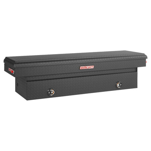 Model 127-52-02 Saddle Box, Aluminum, Full Standard, 11.3 cu ft