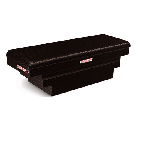 Model 137-5-01 Saddle Box, Aluminum, Compact Deep, 8.9 cu ft