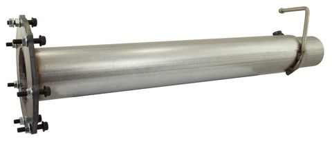 MACH Force-Xp 4in 409 Stainless Steel Race Pipe
