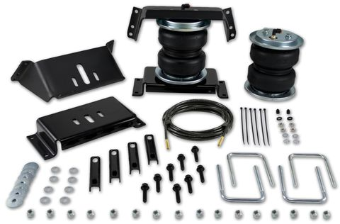 LoadLifter 5000 ULTIMATE with internal jounce bumper; Leaf spring air spring kit