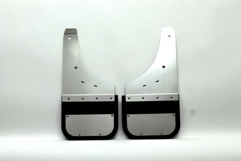 Silverado - 1500/2500/3500 - front mud flaps. Also fits 2014 2500/3500