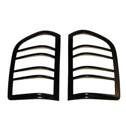 Taillight Covers Originals-Black (Paintable)