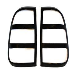 Tail Light Cover; Horizontal Slots