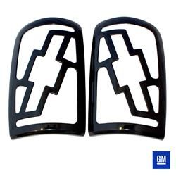 Taillight Covers Bowtie-Black (Paintable)