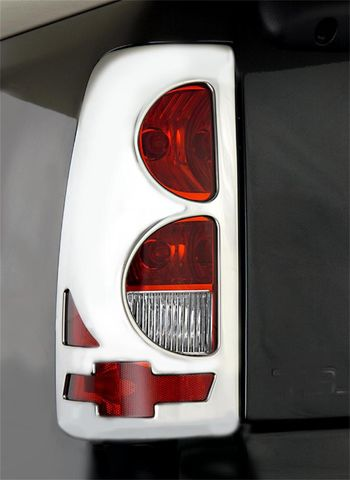 Taillight Covers Bowtie-Chrome
