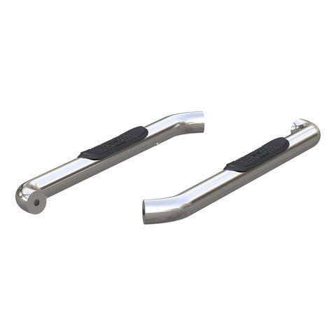 3in. Round Polished Stainless Steel Side Bars