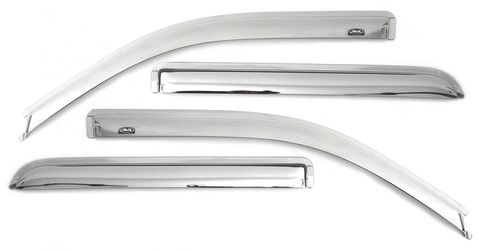 VENTVISOR CHROME 4PC