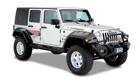 2007 2018 WRANGLER UNLIMITED EXT COVERAGE FLAREFF MAX POCKET STYLE 2PC