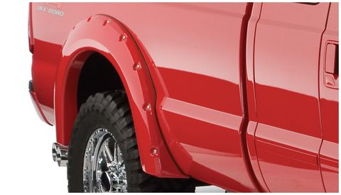 1999 2010 FORD F-250 SUPER DUTY STYLESIDEFENDER FLARES POCKET STYLE 2PC