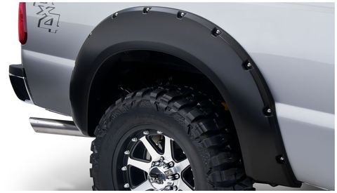 2011 2016 FORD F-250 SUPER DUTY STYLESIDEFENDER FLARES POCKET STYLE 2PC