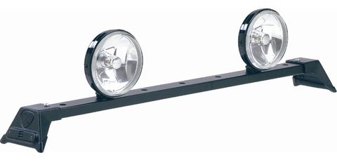 Low Profile Light Bar Black Powder Coat