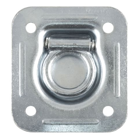 1-1/2in. x 1-1/2in. Recessed Tie-Down Ring (5;000 lbs.; Clear Zinc)
