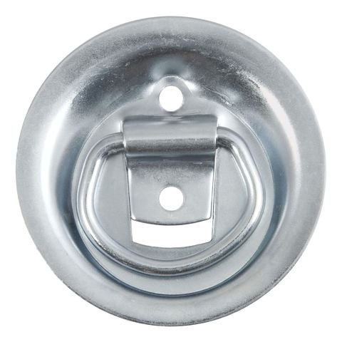 1-1/8in. x 1-5/8in. Recessed Tie-Down Ring (1;000 lbs.; Clear Zinc)