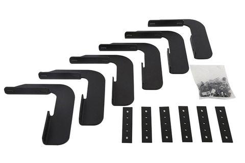 Running Board Rough Step Bracket Kit