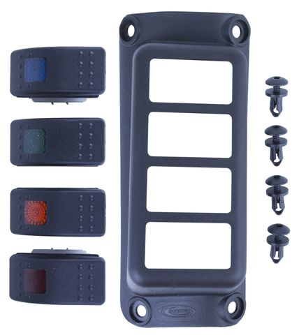 07-17 Jeep JK A-Pillar Switch Pod with Switches