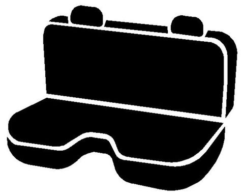 OE REAR BENCH SEAT COVER DODGE RAM FULL SIZE P/U 02-08
