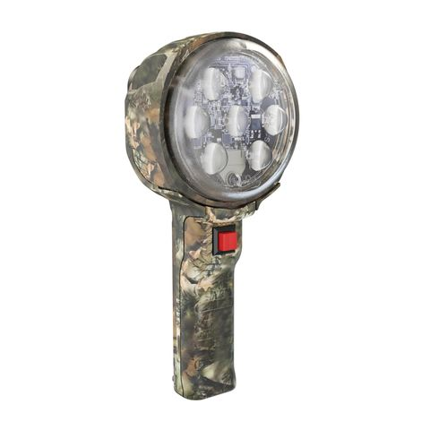 12V Camouflage Handheld Work Light with Spot Beam Pattern Kit