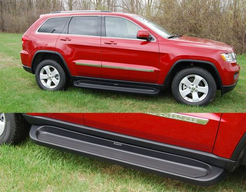 OWENS PREMIER SERIES CUSTOM MOLDED ABS RUNNING BOARDS