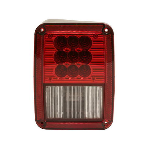 2007-2015 Jeep Wrangler Led Tail Lamp (diver Side)