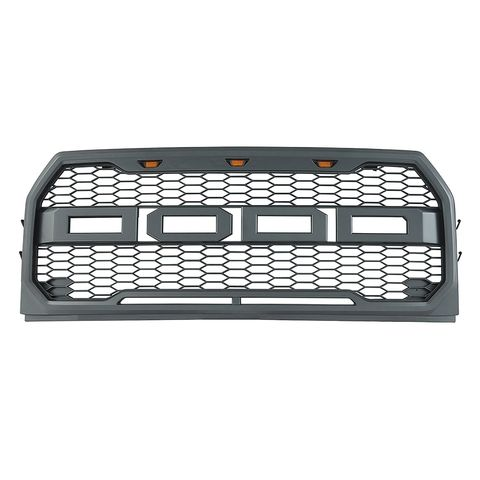 2015-2017 FORD F150 ABS LED METAL BLACK IMPULSE PACKAGED GRILLE