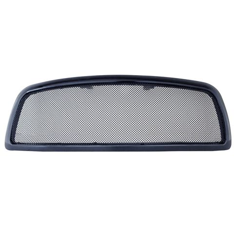 Stainless Steel Wire Mesh Packaged Grille Black