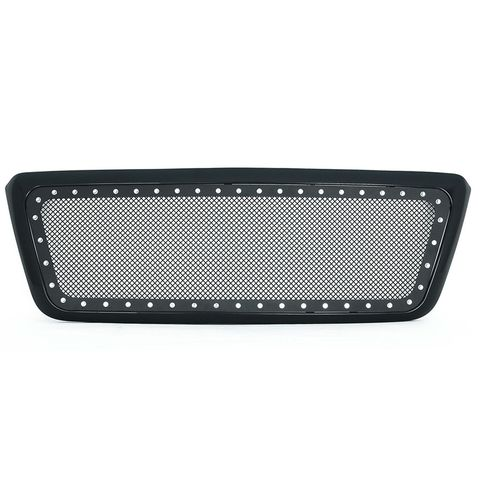 Black Evolution Stainless Steel Wire Mesh Packaged Grille