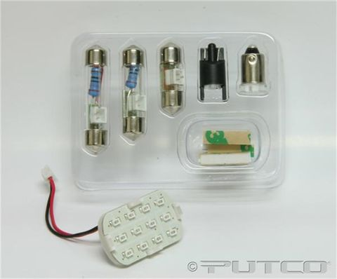 WHITE INTERIOR LED KIT