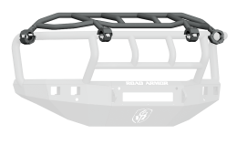10-18 RAM STEALTH FRONT NON-WINCH BUMPER INTIMIDATOR GUARD