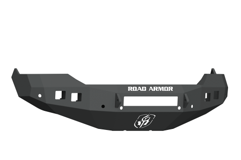 13-18 RAM STEALTH FRONT NON-WINCH BUMPER SATIN BLACK