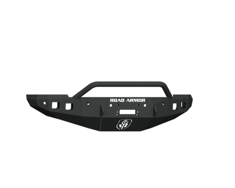 16-18 Ram 2500/3500 Stealth Front Winch Bumper Pre-Runner Guard With 6 Sensor Holes - Texture Black