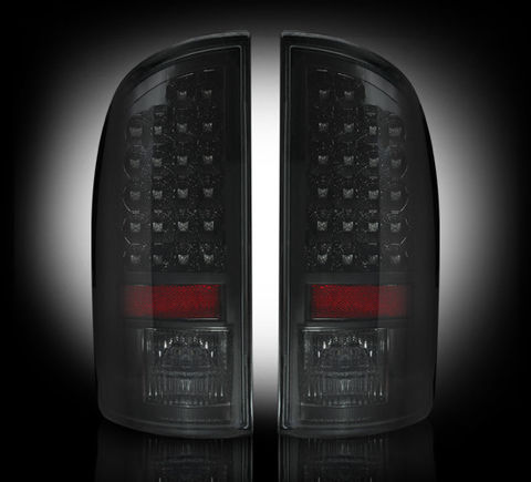 LED Tail Lights Smoked