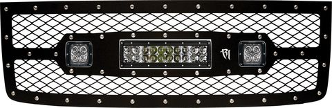 2011-2013 GMC 1500 GRILLE FITS 2 D-SERIES AND 1 10 INCH E-SERIES