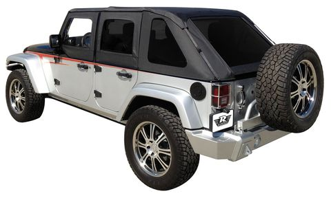 FRAMELESS TRAIL TOP-JEEP