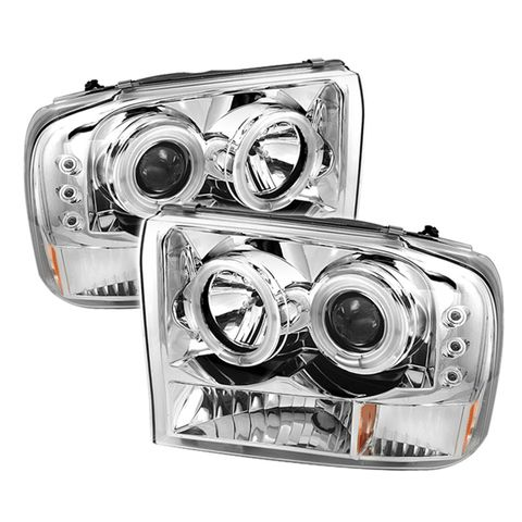 ( Spyder ) Ford F250 Super Duty 99-04/Ford Excursion 00-04 1PC Projector Headlig