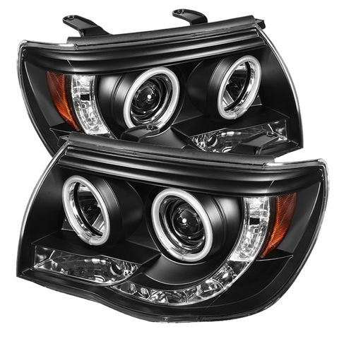 ( Spyder ) Toyota Tacoma 05-11 Projector Headlights-CCFL Halo-LED ( Replaceable
