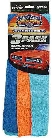 Nano-Detail Polishing Cloths (3-pack)