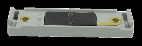 Base Mount; Gray; Incl. Hotwire/Built-In Ground; For Use w/1 in. x 4 in. Lamps;