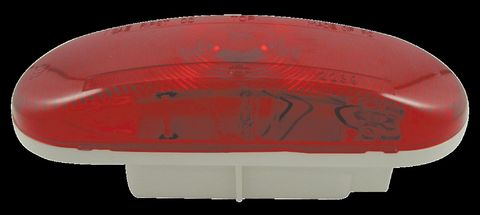 Sealed Stop Turn Tail Lamp; Oval; Red; 12V; SAE IPST;