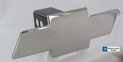 Hitch Cover Bowtie Chrome