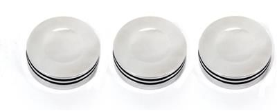 Interior Dash Knobs (set of 3)-O-ring Polished