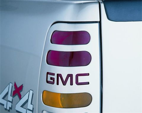 Taillight Covers GMC-Black (Paintable)
