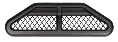 07-17 Jeep JK Hood Front Center Vent Kit; Black