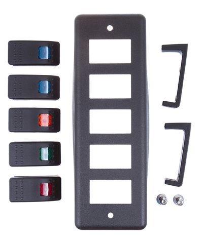 Switch Pod; Roll Bar Mount with (5)Switches