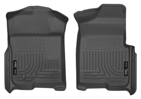 FRONT FLR MAT FORD F150 RC 09BLACK
