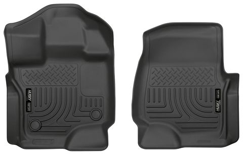 15 F150 FRONT BLK WEATHERBEATR