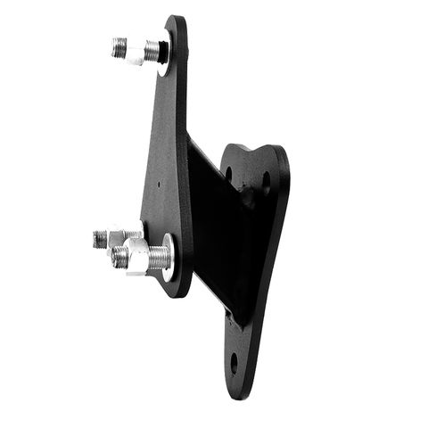 Spare Tire Relocate Bracket, Black Coated