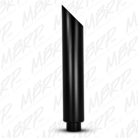 1 pc Stack 6in. Angle Cut 36in. Black Coated